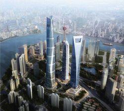 La Shanghai Tower : le plus haut bâtiment d'Asie