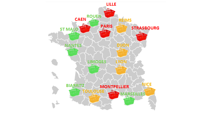 Prix des apéritifs en France