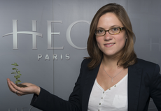 Emilie Alliot-Abel, responsable de l'incubateur HEC