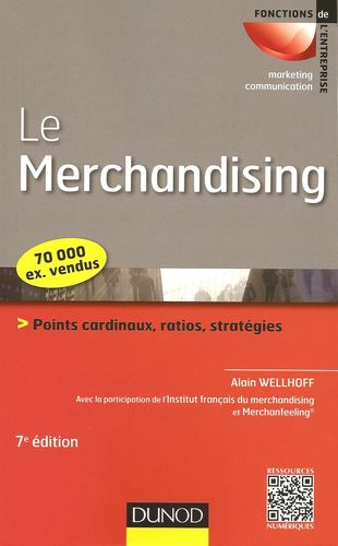 Le merchandising, Alain Wellhoff, Dunod