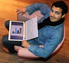Adrien Besançon, diplômé de l'Idrac et fondateur de In Buzz We Trust