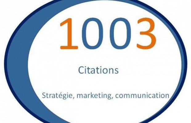 1003 Citations de stratégie, marketing et communication