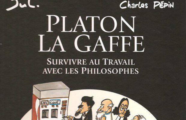 Critique du livre Platon la gaffe, de Jul et Charles Pépin, publié chez Dargaud. Voici comment survivre en entreprise avec les philosophes...