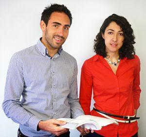 Sabine Safi et Cédric O'Neill, fondateurs de 1001Pharmacies