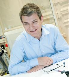 Louis Comolet, directeur général de l'agence CLTG