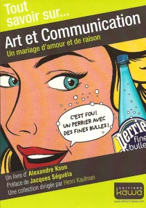 Art et Communication, de Alexandre Kson, publié aux Editions Kawa