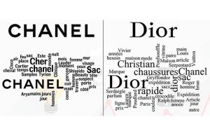 Analyse comparée de la réputation online de Chanel et de Dior