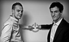 Baptiste Brunin et Pierre Figeat, co-fondateur de ClickOn.