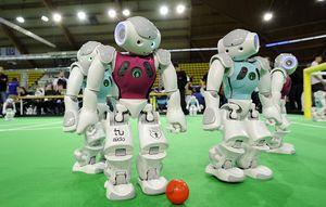 Bientôt des robots footeux ?