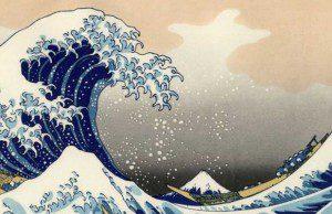 Comment parler de Hokusai aux enfants (et aux marketeurs ?), d'Elisabeth de Lambilly : critique du livre paru aux éditions Le baron perché