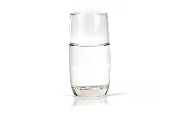 a glass of fresh drink water