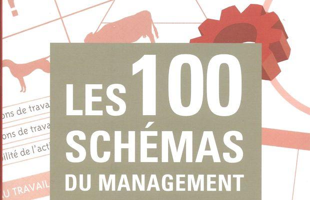 Critique de Les 100 schémas du management, de David Autissier, Laurent Giraud et Kevin J. Johnson, publié chez Eyrolles.