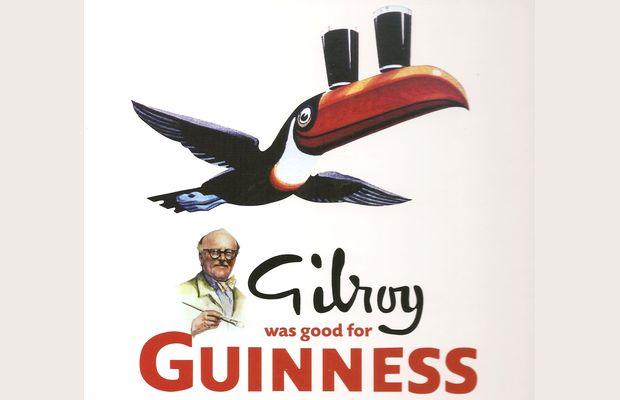Gilroy was good for Guinness : rapide critique de ce livre présentant l'histoire de l'illustration de la marque quand son créatif illustrateur était Gilroy