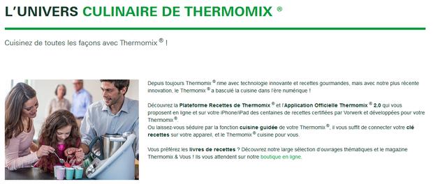 Thermomix marque non interstitielle