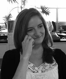 Célia Face, Stagiaire Web Marketing chez Mitel France