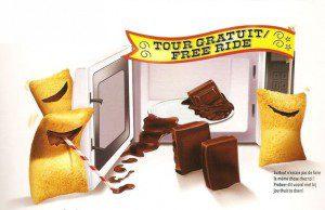 Le dos du packaging des céréales Kellogg's Trésor dévoile un humour bien particulier. Mais en fait dramatique et totalement inadmissible.
