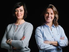 Caroline Dudkowski et Marion Tosi, co-fondatrices de Rue Tandem