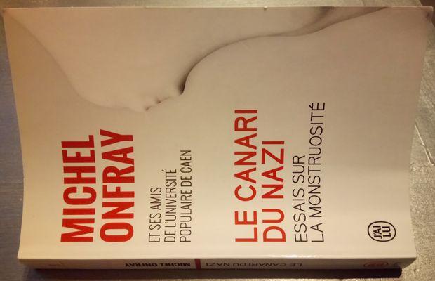 Critique du livre Le canari du nazi, dir. Michel Onfray, J'ai Lu 11218