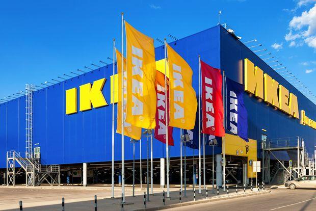 Point de vente IKEA