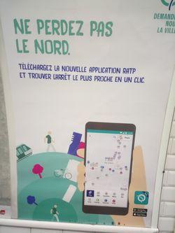 En matière d'orthographe, la RATP a des lignes à faire...